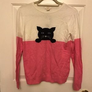 Kate Spade cat sweater